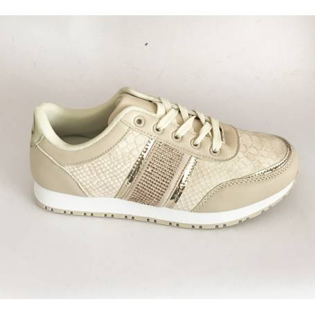 ZAPATILLAS CASUAL BEIGE
